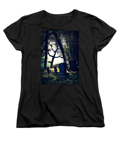Women's T-Shirt (Standard Cut) featuring the photograph Mystical Fantasies by Melanie Lankford Photography