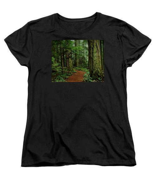 Mystical Path Women's T-Shirt (Standard Cut) by Randy Hall