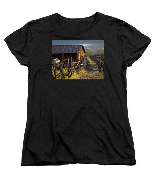 Napa Morning Women's T-Shirt (Standard Cut) by Bill Gallagher