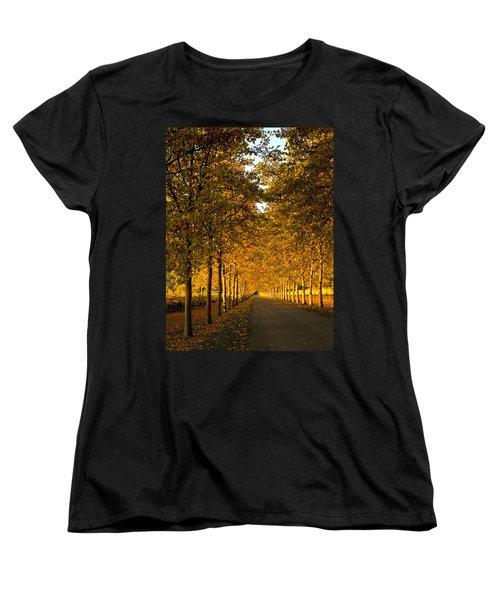 Napa Valley Fall Women's T-Shirt (Standard Cut) by Bill Gallagher