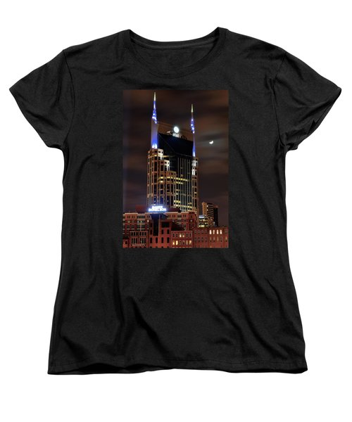 Nashville Women's T-Shirt (Standard Cut) by Frozen in Time Fine Art Photography
