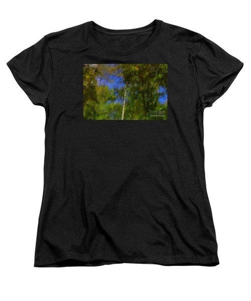 Nature Reflecting Women's T-Shirt (Standard Cut)