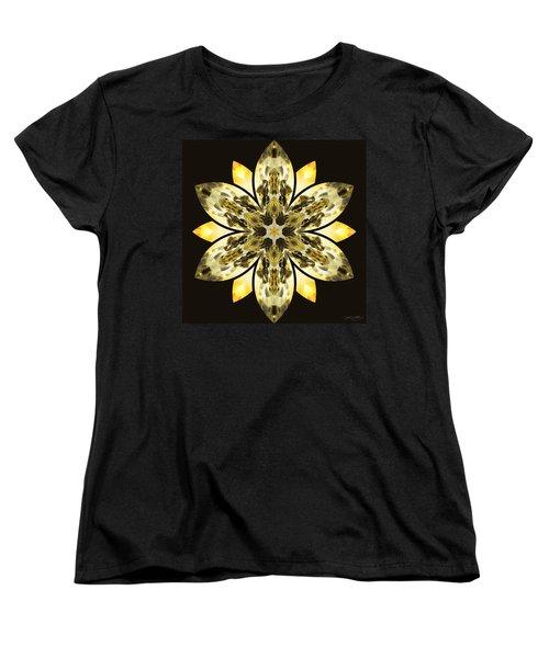 Nature's Mandala 57 Women's T-Shirt (Standard Cut) by Derek Gedney