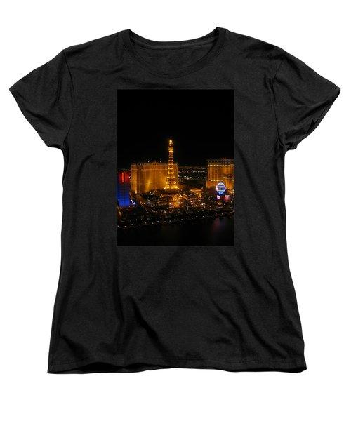 Neon Illusion Women's T-Shirt (Standard Cut) by Angela J Wright