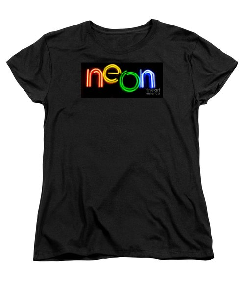 Neon Women's T-Shirt (Standard Cut)