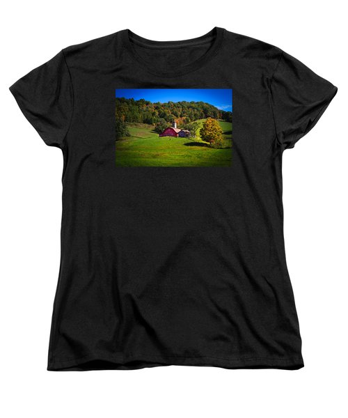 nestled in the hills of West Virginia Women's T-Shirt (Standard Cut)