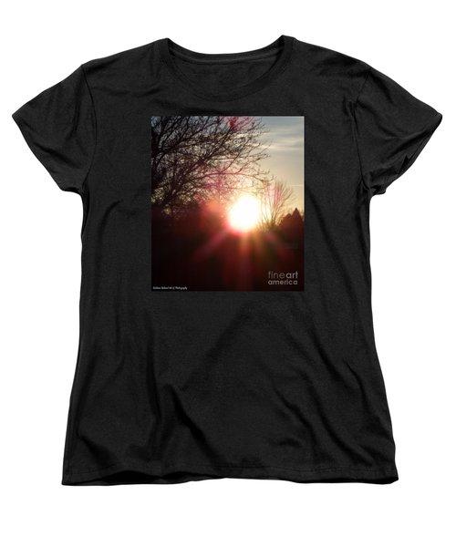 Nevada Sunset Women's T-Shirt (Standard Cut) by Bobbee Rickard
