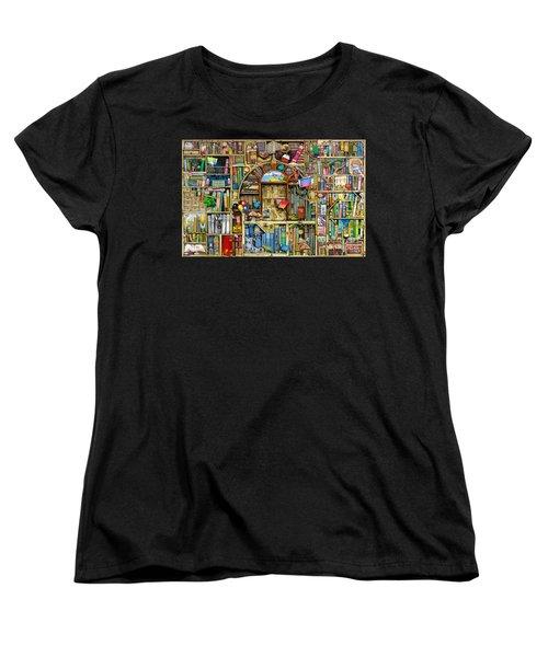 Neverending Stories Women's T-Shirt (Standard Cut) by Colin Thompson