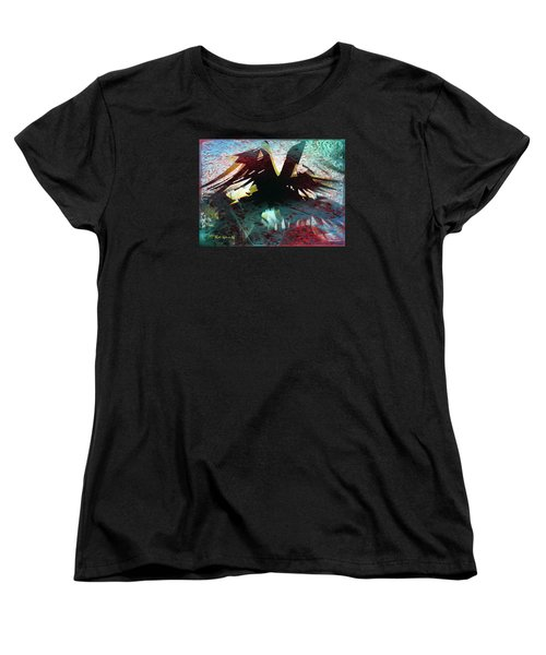 Nevermore Women's T-Shirt (Standard Cut) by Sadie Reneau
