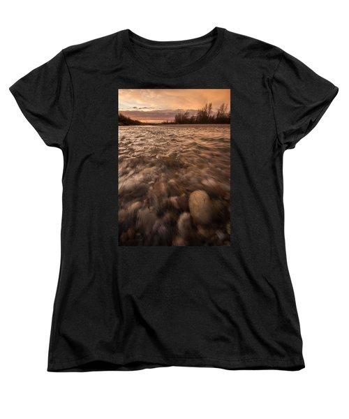 Women's T-Shirt (Standard Cut) featuring the photograph New Dawn by Davorin Mance