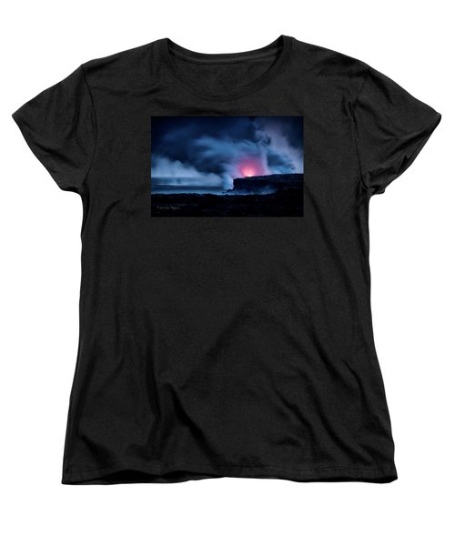 Women's T-Shirt (Standard Cut) featuring the photograph New Earth by Jim Thompson