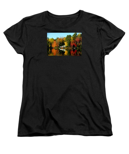 New England Women's T-Shirt (Standard Cut) by Bill Howard