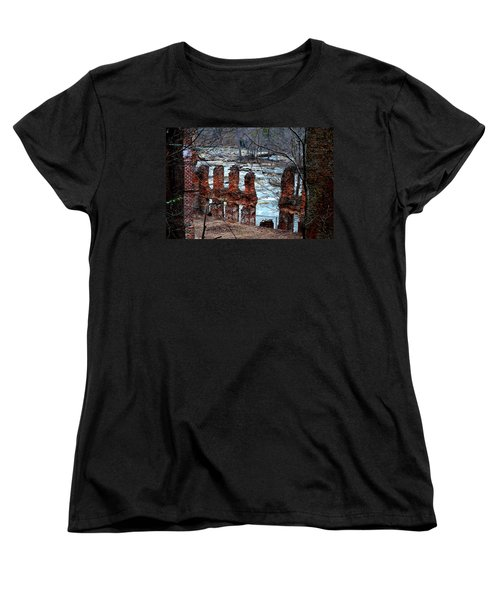 New Manchester Manufacturing Company Ruins Women's T-Shirt (Standard Cut) by Tara Potts