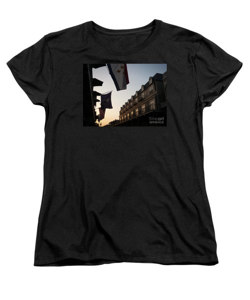 Evening In New Orleans Women's T-Shirt (Standard Cut) by Valerie Reeves
