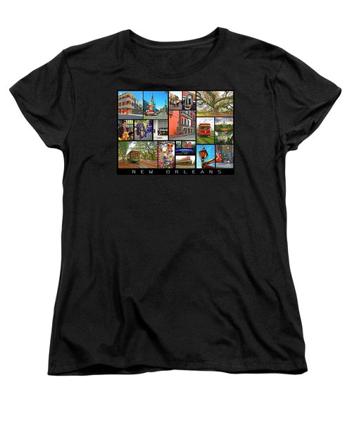 New Orleans Women's T-Shirt (Standard Cut) by Steve Harrington