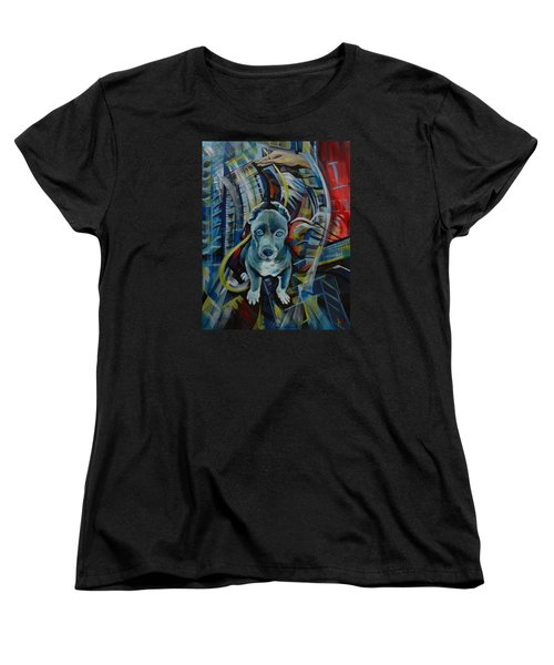New York Women's T-Shirt (Standard Cut) by Anna  Duyunova