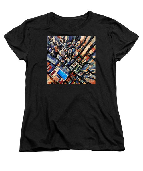 New York City Sky View Women's T-Shirt (Standard Cut)