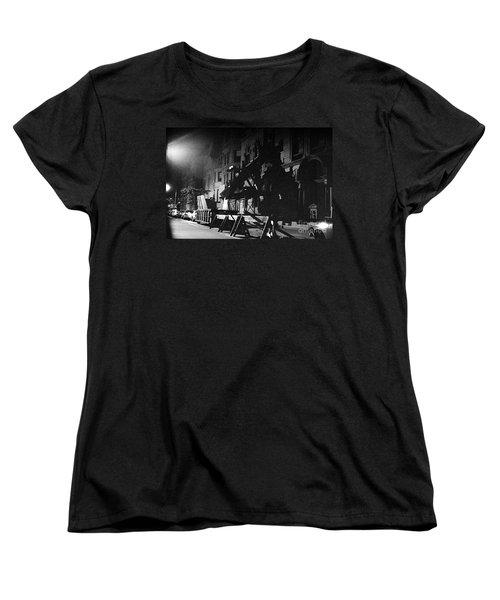 Women's T-Shirt (Standard Cut) featuring the photograph New York City Street by Steven Macanka