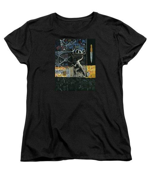 New York City Women's T-Shirt (Standard Cut) by Yelena Tylkina