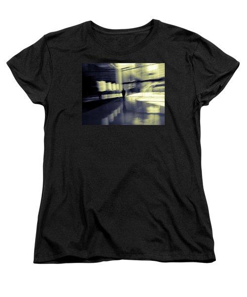 Women's T-Shirt (Standard Cut) featuring the photograph Nexus by Alex Lapidus