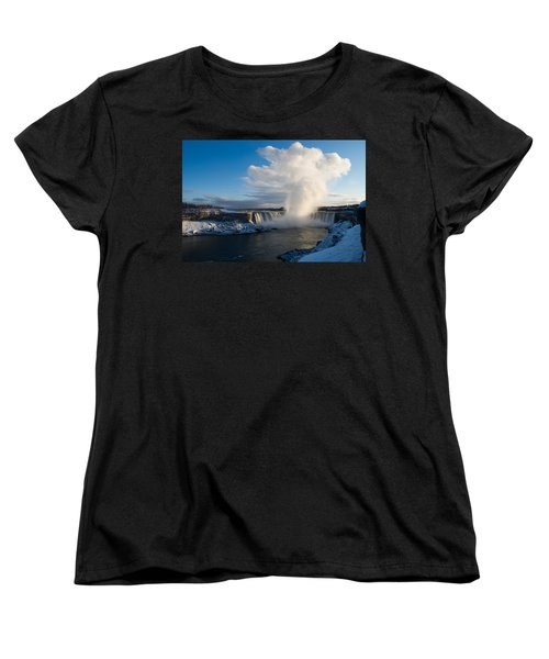 Niagara Falls Makes Its Own Weather Women's T-Shirt (Standard Cut)