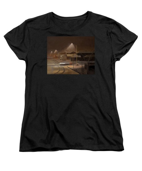 Night Drive Women's T-Shirt (Standard Cut) by Thu Nguyen