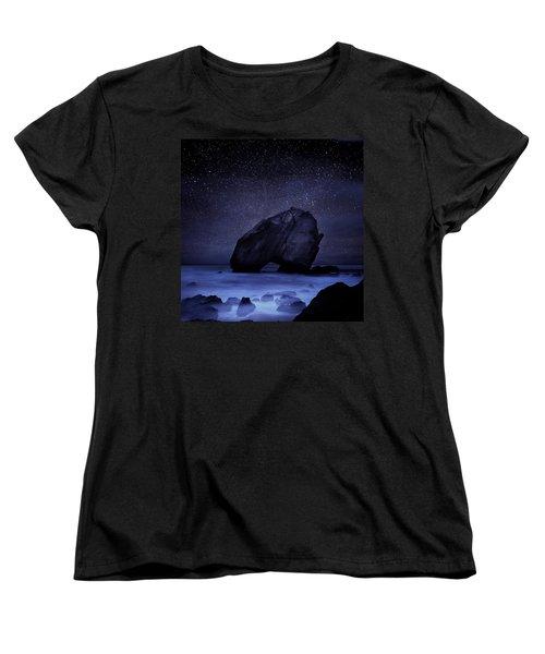 Night Guardian Women's T-Shirt (Standard Cut) by Jorge Maia