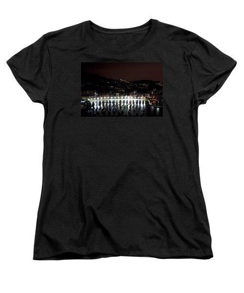 Night In Rio De Janeiro Women's T-Shirt (Standard Cut) by Daniel Precht