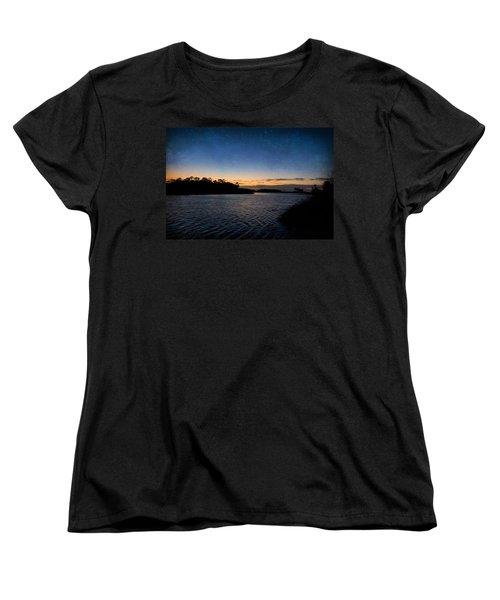 Nightfall Women's T-Shirt (Standard Cut) by Beverly Stapleton