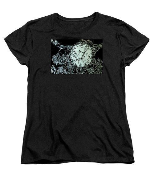 Nightingale Song. Part Three Women's T-Shirt (Standard Cut) by Anna  Duyunova