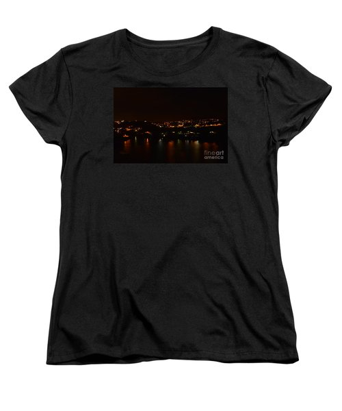Nightscape Women's T-Shirt (Standard Cut) by Laura Forde