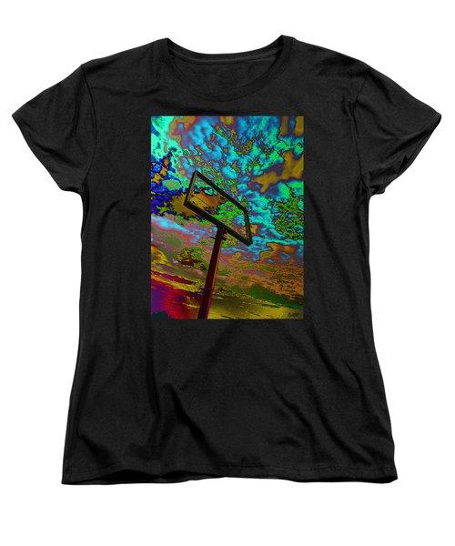 Nikki's Cloud Catcher Women's T-Shirt (Standard Cut) by David Pantuso