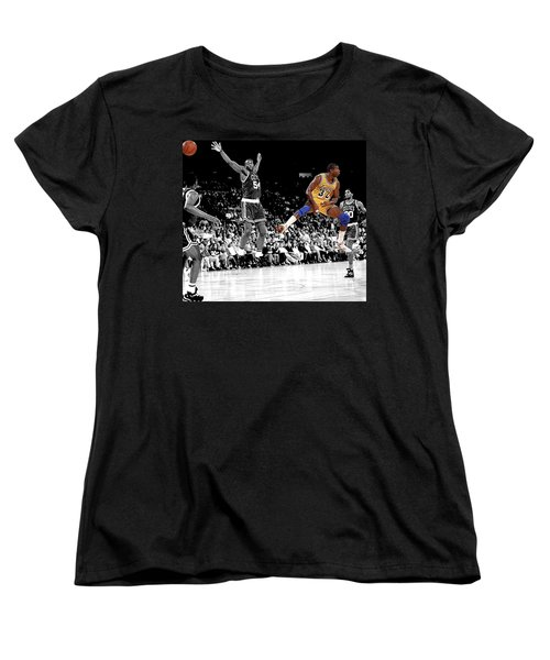 Women's T-Shirt (Standard Cut) featuring the photograph No Look Pass by Brian Reaves