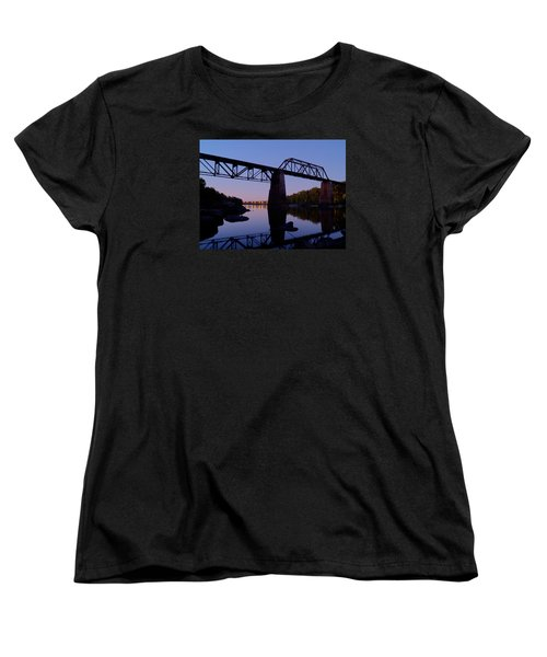 Norfolk-southern Crossing-1 Women's T-Shirt (Standard Cut) by Charles Hite