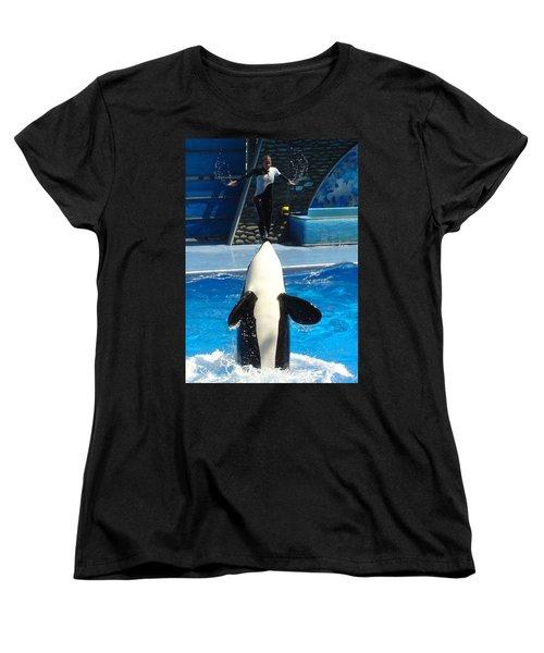 Women's T-Shirt (Standard Cut) featuring the photograph Nose Dive by David Nicholls