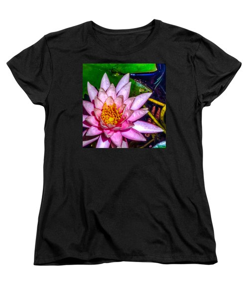 Women's T-Shirt (Standard Cut) featuring the photograph Nymphaeaceae by Rob Sellers