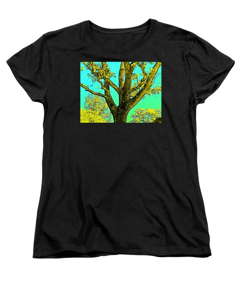 Oaks 3 Women's T-Shirt (Standard Cut) by Pamela Cooper