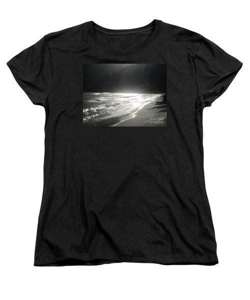 Women's T-Shirt (Standard Cut) featuring the photograph Ocean Smile by Fiona Kennard