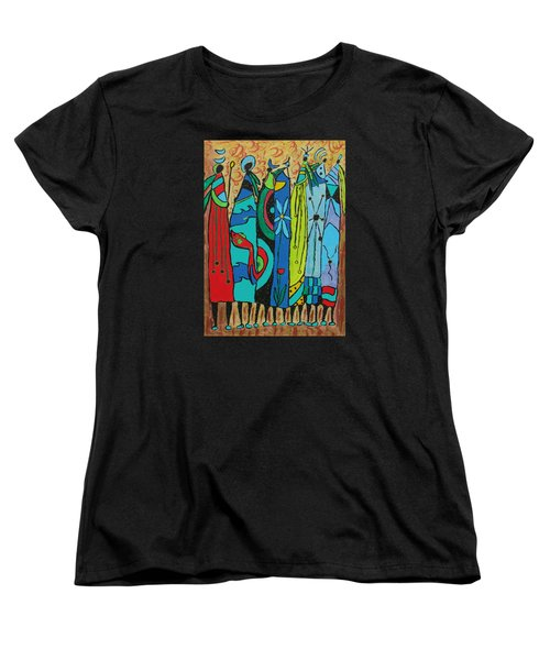 Oceania Women's T-Shirt (Standard Cut) by Clarity Artists