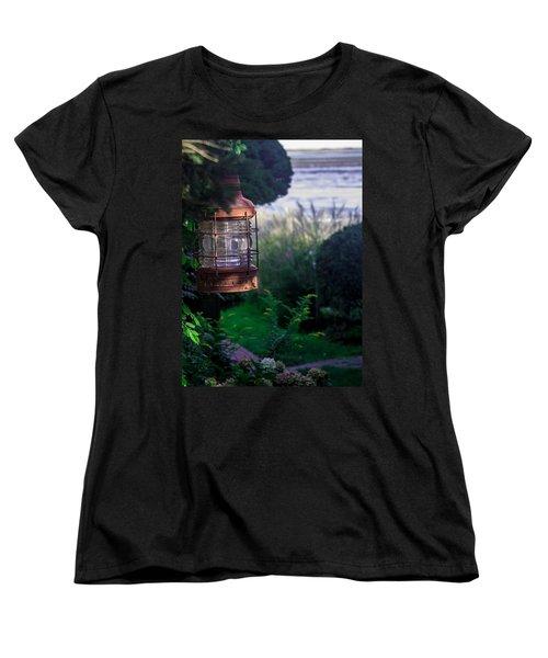 Oceanside Lantern Women's T-Shirt (Standard Cut) by Patrice Zinck