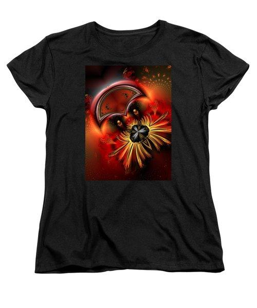 Ocf 199 Fido In Abstract Women's T-Shirt (Standard Cut)