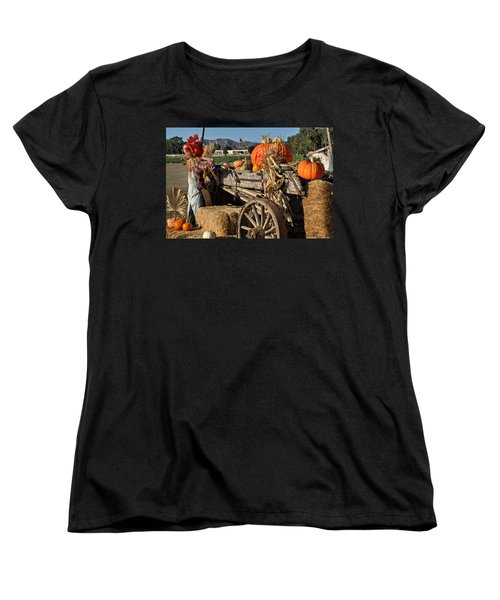 Women's T-Shirt (Standard Cut) featuring the photograph Off To Market by Michael Gordon