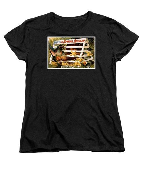 Oh Mama Women's T-Shirt (Standard Cut) by Terry Reynoldson