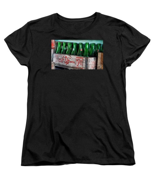 Old 7 Up Bottles Women's T-Shirt (Standard Cut) by Thomas Woolworth