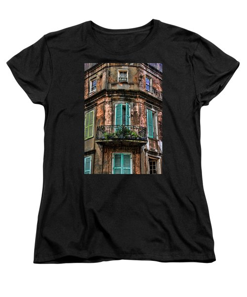 Old And Weathered Women's T-Shirt (Standard Cut) by Judy Vincent
