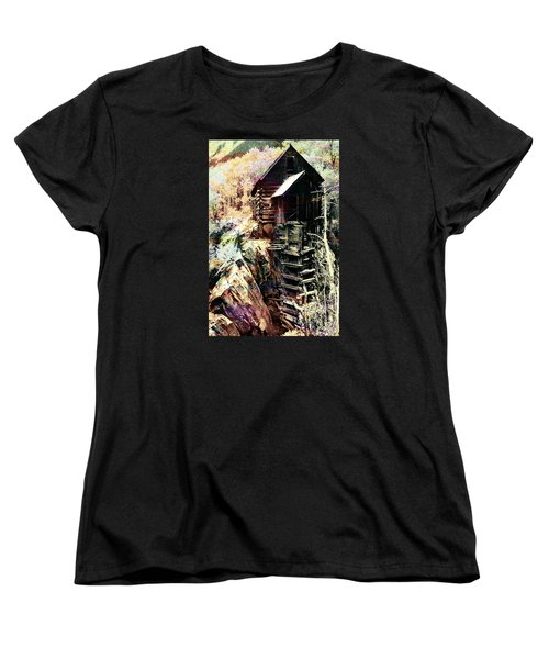 Old Crystal Mill Crystal Colorado Women's T-Shirt (Standard Cut) by Paula Ayers