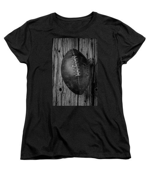 Old Football Women's T-Shirt (Standard Cut) by Garry Gay