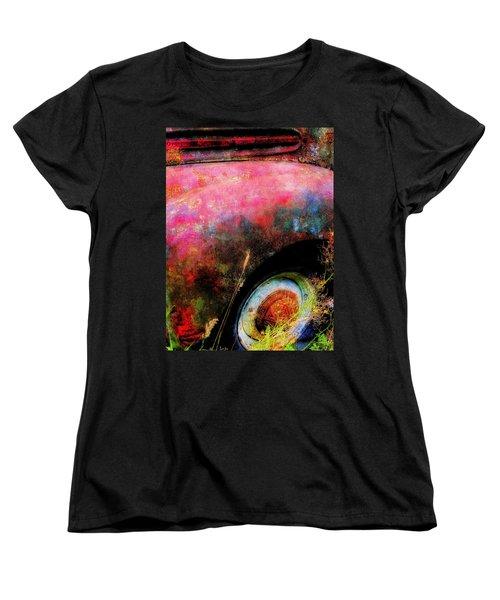 Old Ford #3 Women's T-Shirt (Standard Cut) by Sandy MacGowan