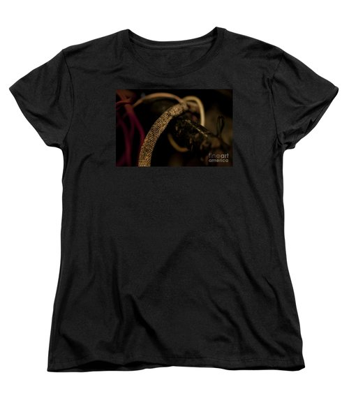 Old Frayed Wires Women's T-Shirt (Standard Cut) by Wilma  Birdwell