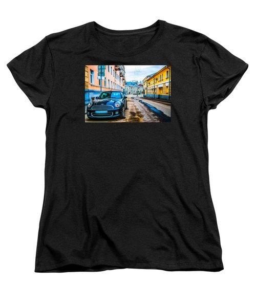 Old Lane Women's T-Shirt (Standard Cut) by Alexander Senin